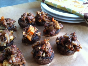 Pork stuffed mushrooms - Copy