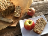 Perfectly Chunky and Not-to-Sweet Apple Bread